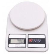 Cantar electronic capacitate maxima 10kg alb