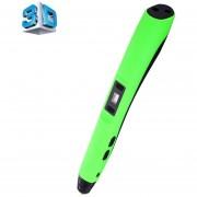 F20 Gen 4 La Impresión En 3D Pluma Con Pantalla LCD (verde)