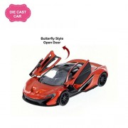 Kinsmart Mclaren P1 Die Cast Car with Openable Doors, Multi Color