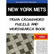 New York Mets Trivia Crossword Puzzle and Word Search Book, Paperback/Mega Media Depot