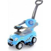 Masinuta de impins EURObaby 321 Mini Cooper - Albastru