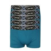 Lürgen Xtreme bavlněné boxerky - 5 ks XXL modrá