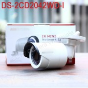 In stock original Hikvision DS-2CD2042WD-I English version 4MP IR mini Bullet ip Camera CCTV camera POE,1080P H.264+