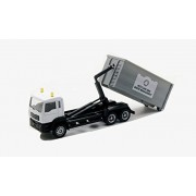 Affluent Town 1:64 Diecast Recycling and Waste Management Truck Forest Vehicle Model Collection (White) (L x W...
