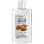 Omia - bagno seta olio di mandorla - bagnoschiuma 400 ml