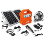 Ecoboxx Solar Power Solution Barber Kit