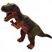 Emob Amazing Realistic Look Wildlife Animal T-Rex Dinosaur Figure Playset Toy for Kids (Multicolor)