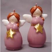 Tabor candela angelo rosa con stella cd516