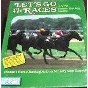 Lets Go To The Races Vcr Horse Racing Game By Parker Brothers