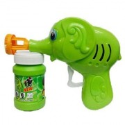 Rio Ben 10 Bubble Gun Elephant Hand Pressing Bubble Gun Toy For Kids With Bubble Liquid