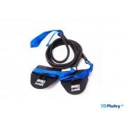 Posilňovacie plavecké gumy Born To Swim obtiažnosť: ťažká modrá