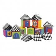 Ks Kids Knock Knock plüss házépítő kis kockák