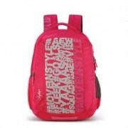 Skybags 36 Ltrs Casual Backpack Spacious School Bag Travel Bag Laptop Bag Skybag Bingo 03 Trendy Backpacks 36 L Laptop Backpack(Pink)