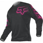 FOX Camiseta Fox Blackout Lady Black / Pink