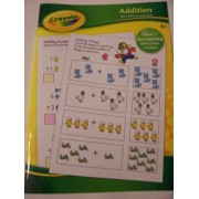 Crayola Educational Activity Book ~ Addition (Grade 1 Fun Learning with Creative Activities)
