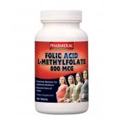 Pharmekal Folic Acid-Folsav(L-Metil-folát) 100 db