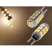 NTR LEDC09WW G4 foglalat 13xSMD5050 12V DC LED 4W autóvilágításhoz, íróasztali lámpához 3000K