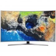 Televizor Samsung LED Smart TV Curbat UE65 MU6502 165cm Ultra HD 4K Silver