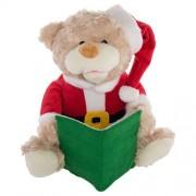 Simply Genius Talking Teddy Bear Toy Animated Plush Stuffed Animal Christmas Kid Holiday Dcor