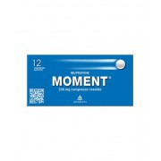 Angelini Spa Moment 200mg Ibuprofene 12 Compresse Rivestite