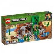 Конструктор Лего Майнкрафт - Мина Creeper, LEGO Minecraft, 21155