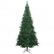 vidaXL Brad de Crăciun artificial L 240 cm, verde