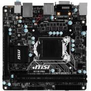 Placa de baza MSI H110I PRO, Intel H110, LGA 1151