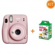 Kit Fujifilm Instax Mini 11 Pink + Set de 20 Hartii Foto