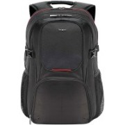 Targus 15.6 inch Expandable Laptop Backpack(Black, Red)