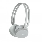 HEADPHONES, SONY WH-CH400, Headset, Bluetooth/NFC, Google/Siri voice assistant, Grey (WHCH400H.CE7)