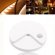 Meco USB Rechargeable PIR Motion Sensor Light Control LED Night Lamp Wall Light for Cabinet Toilet Aisle