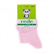 Rede Juniorvilágos rózsaszín gyerek zokni