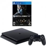 Конзола PlayStation 4 Slim 500GB Black, Sony PS4+Игра Mortal Kombat XL PS4