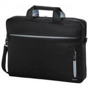 Чанта за лаптоп HAMA Marseille Style 101281, 15.6, Черен/Сив, HAMA-101281