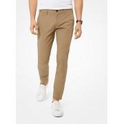 MK Skinny-Fit Stretch-Cotton Chino Pants - Khaki - Michael Kors