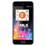 """Smart telefon MLS DX 4G SAFE DS Crni 5.2""""HD IPS, QC 1.45GHz/2GB/16GB/16&5Mpix/4G/Android 7.0"""