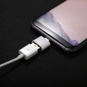ABS Shell USB 2.0 A Usb-c / C * Mini Adaptador De Conector OTG Para Samsung Galaxy S8 S8 + / LG G6 / Huawei P10 Y P10 Plus / Oneplus 5 Y Otros Smartphones