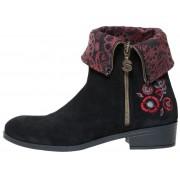 Desigual Ženske čizme Neoboho Foulard, crne, 39