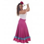 Falda Sevillana Fuxia Baile - Creaciones Llopis