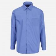 STEVULA Modrá Royal pánska košeľa, Regular fit Veľkosť: M 39/40