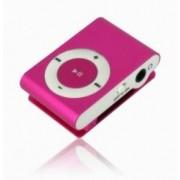 Mini MP3 přehrávač - růžový