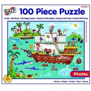 Galt Toys Pirates Puzzle (100 Piece)