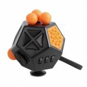 Fidget Cube alivia el estres y la ansiedad para ninos y adultos 12 caras Atencion a la ansiedad Toy Fun Cube para el TDAH