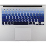All-inside Blue Ombre Color Keyboard Skin for MacBook Pro 13 15 17 (with or without Retina Display) / MacBoook Air 13