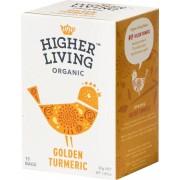 HIGHER LIVING Golden Turmeric Tea - 15 Beutel