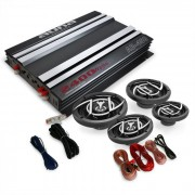 """Kit Car HiFi 4.0 """"Platin Line 440"""" Caixa de amplificador"""