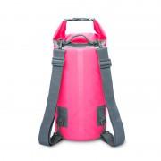20L Outdoor Waterproof Dry Bag Bucket Kayaking Rafting Beach Backpack - Rose