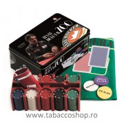 Set de poker Juego Texas Hold'em 200 Luca Pagano