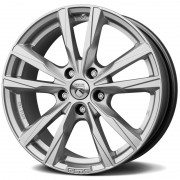 Janta Reds K2 Silver 5/110 17X7.5 ET38 CB65.1 - Made by Momo