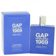Gap 1969 Electric Eau De Toilette Spray 3.4 oz / 100.55 mL Men's Fragrance 529892